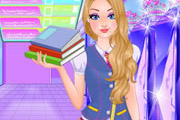 game Super Barbie Goes To School