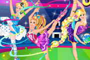 game Super Barbie Gymnastics Contest