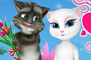 game Talking Tom And Angela Valentine's Day
