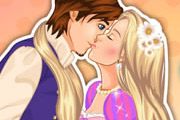 game Tangled Princess Kiss