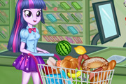 game Twilight Sparkle Christmas Shopping