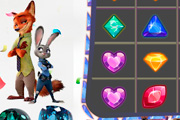 game Zootopia Jewel Match